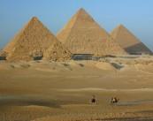 Herodotus tells us that the major pyramids at Giza were built approximately 800BC